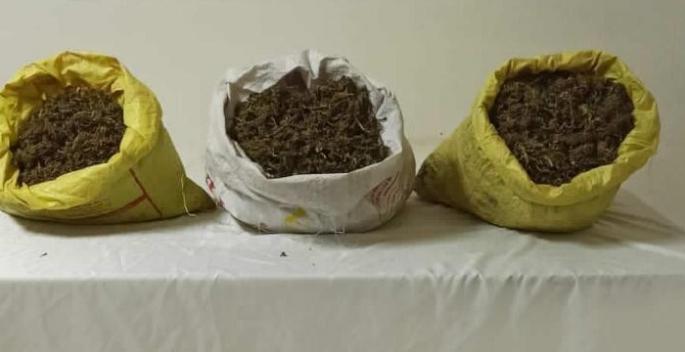 Erzurum'da 45 kilogram kubar esrar ele geçirildi