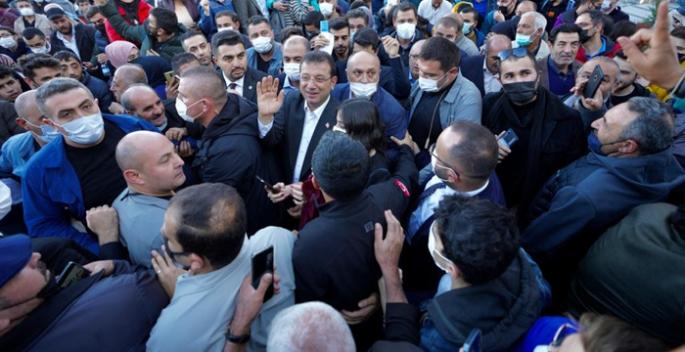 Erzurum'da Ekrem İmamoğlu coşkusu!