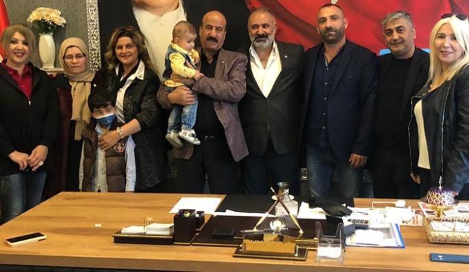 Erzurum'da İYİ Parti'ye katılımlar devam ediyor