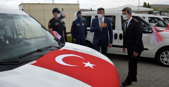 Erzurum Emniyet Müdürlüğü araç filosunu güçlendirdi