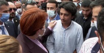 16 yaşındaki genç Meral Akşener'i duygulandırdı