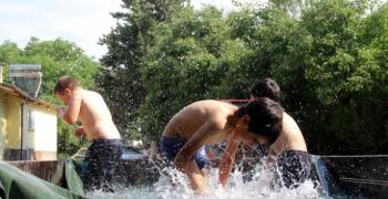 Doğu Anadolu'da bunaltıcı sıcaklar kavuruyor