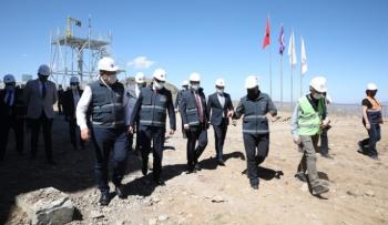 Erzurum'da DAG zirvesi