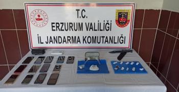 Erzurum'da uyuşturucu operasyonu: 4 gözaltı