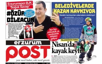 İşte haftanın Erzurum Post e-gazetesi
