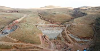 Köşk Barajı tamamlanıyor