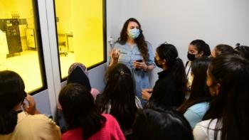 Van'dan gelen öğrenciler ETÜ'yü ziyaret etti