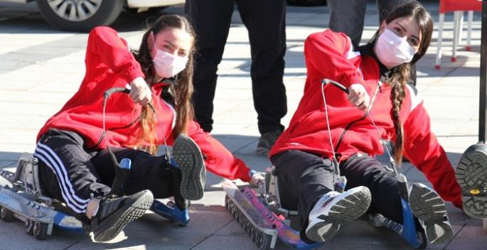 Kızak yarışları Erzurum'da nefesleri kesecek